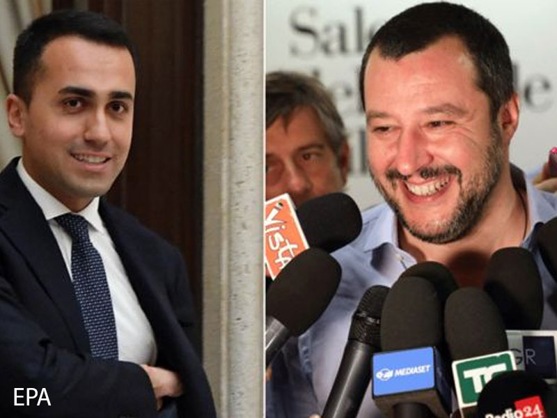 Italian 5-star Movement leader DiMaio says government is nearly complete