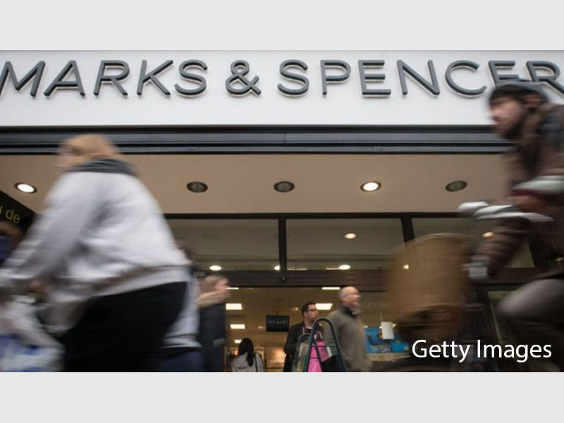 M&S annual profit falls as food margins are squeezed