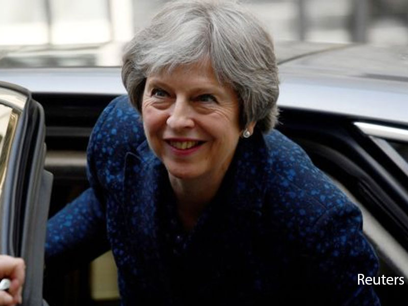 Michel Barnier and Davis Davis talk Brexit 'backstop'