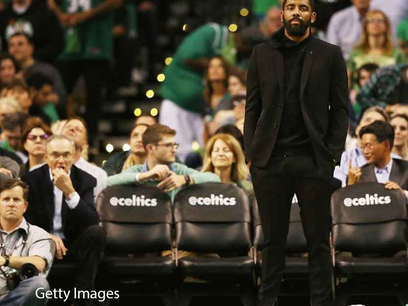 Kyrie Irving 'had a great time' his first year in Boston