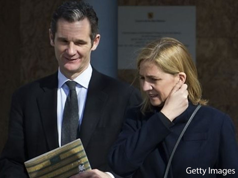 Spanish king's brother-in-law, Inaki Urdangarin, ordered to go to prison