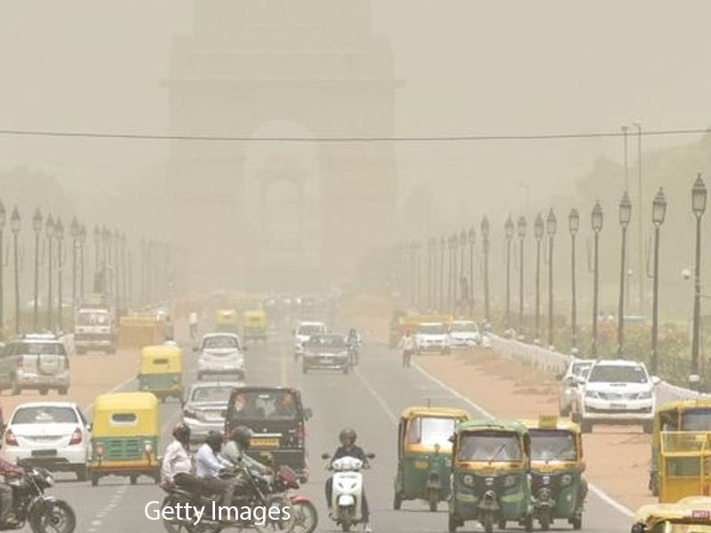 New Delhi orders construction halt as pollution hits 'severe' level