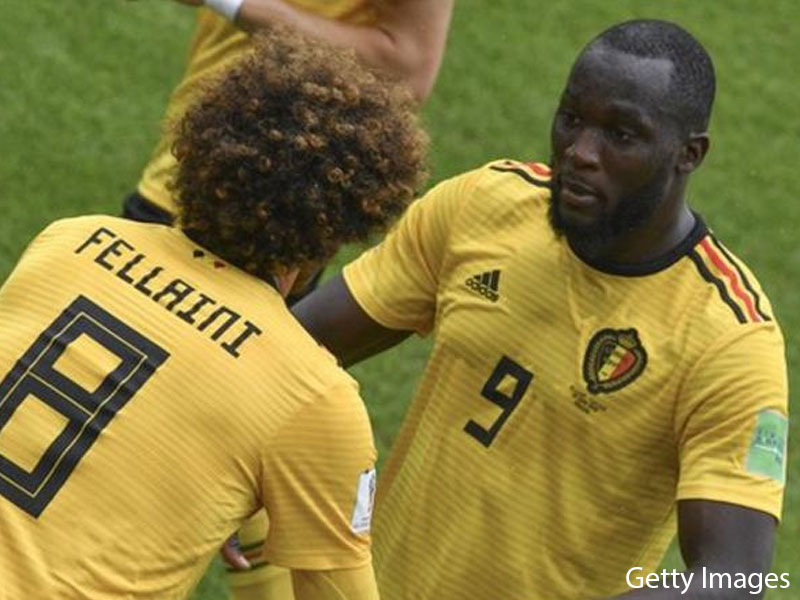 Lukaku Equals Ronaldo's Goal Tally as Belgium Take Control Against Tunisia