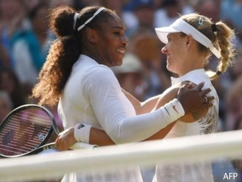 It's just the beginning, says beaten Serena