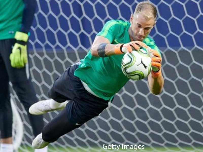 Guardiola says Manchester City trying to find solution for 'professional' Joe Hart