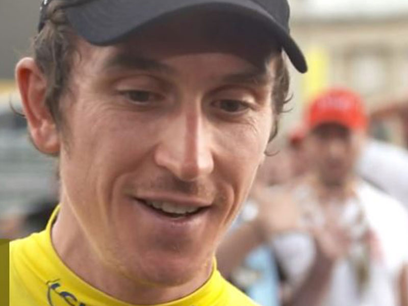 Bradley Wiggins: Geraint Thomas may now be Wales' biggest sports star