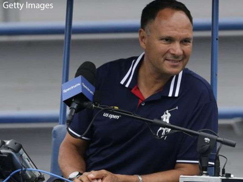 Umpire Mohamed Lahyani banned for Nick Kyrgios pep-talk