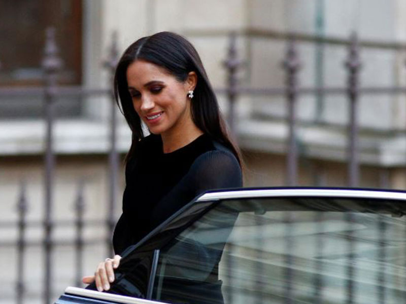 Meghan Markle Closes Her Own Car Door and Causes Royal Stir