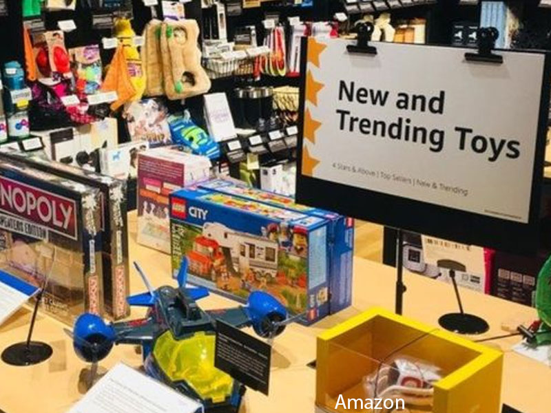Amazon's newest brick-and-mortar store sells only top-rated products
