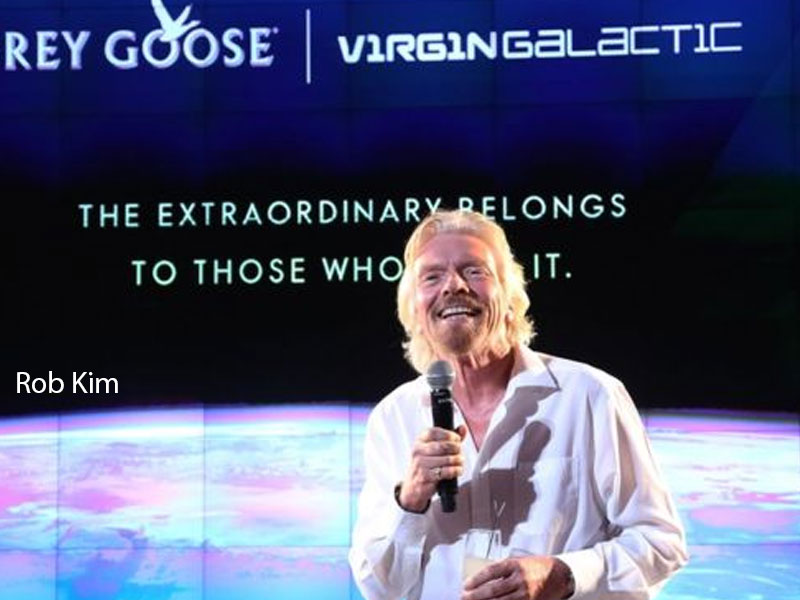 Richard Branson to Launch Himself to Space