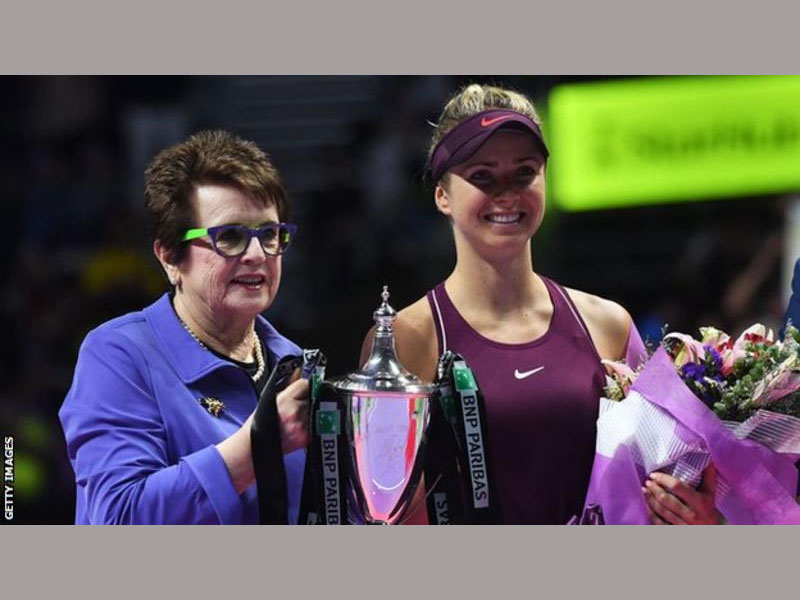 Svitolina becomes first Ukraininan to reach final — WTA Finals
