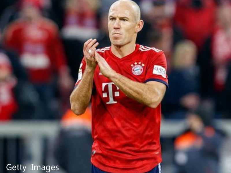 Robben says he will leave Bayern at season's end