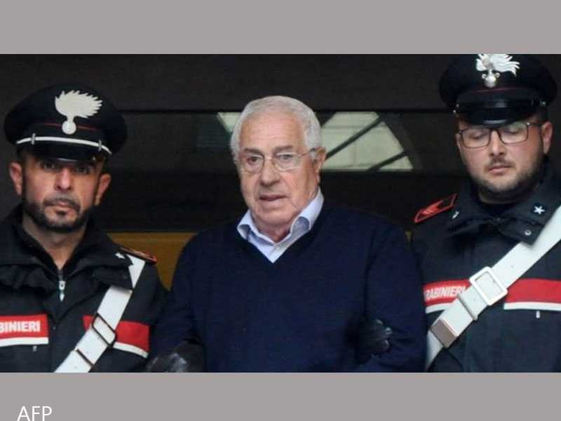 New Godfather Settimo Mineo, 80, seized in raid on Sicilian mafia