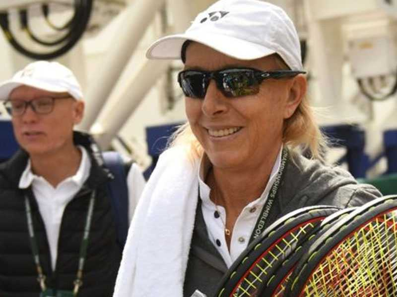LGBT group severs links with Navratilova over transgender comments