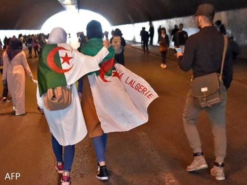 Algerians gather in huge protest against Bouteflika