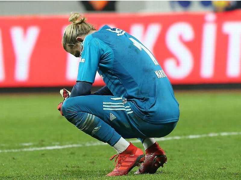 Liverpool loanee Karius criticised by Besiktas boss