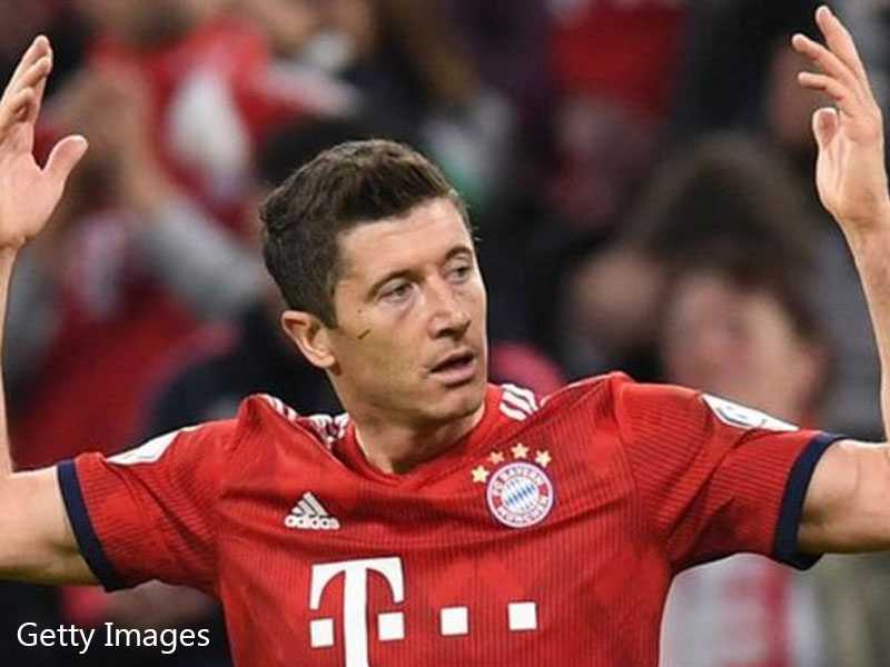 Super-sub Robert Lewandowski comes to Bayern Munich's rescue in German Cup