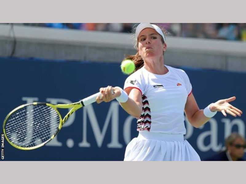 Johanna Konta makes winning start to US Open campaign