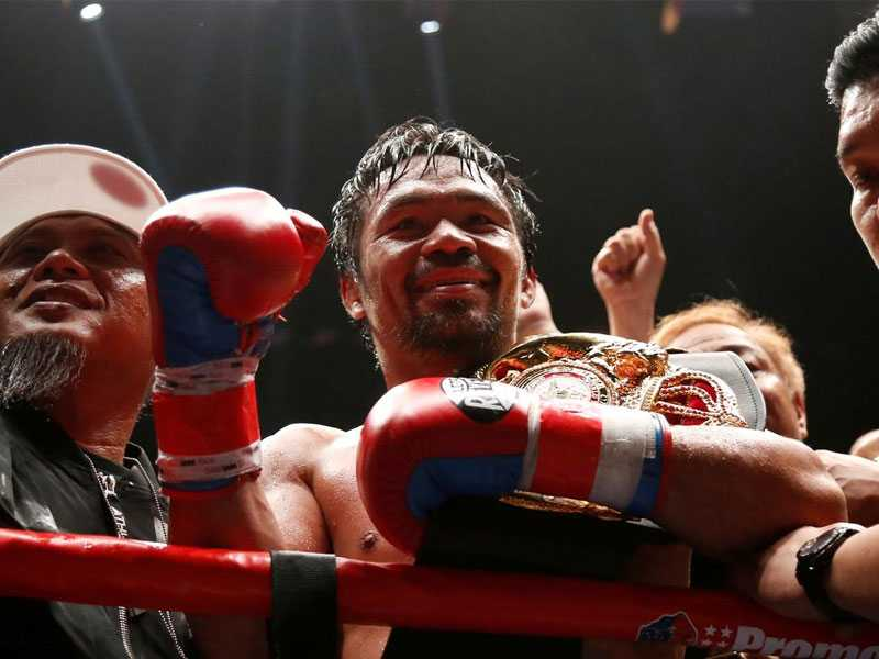 Boxing champ Pacquiao launches own crypto tokens