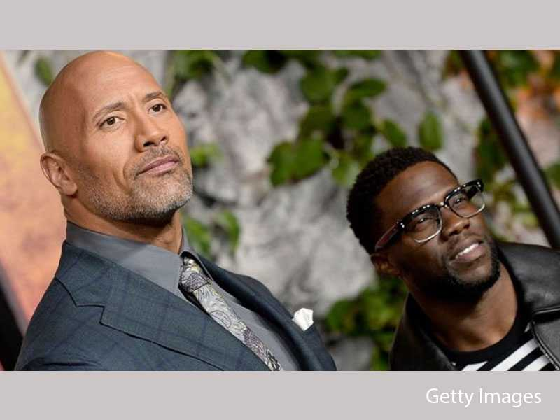 The Rock Reveals How Kevin Hart Is Doing After Serious Injury