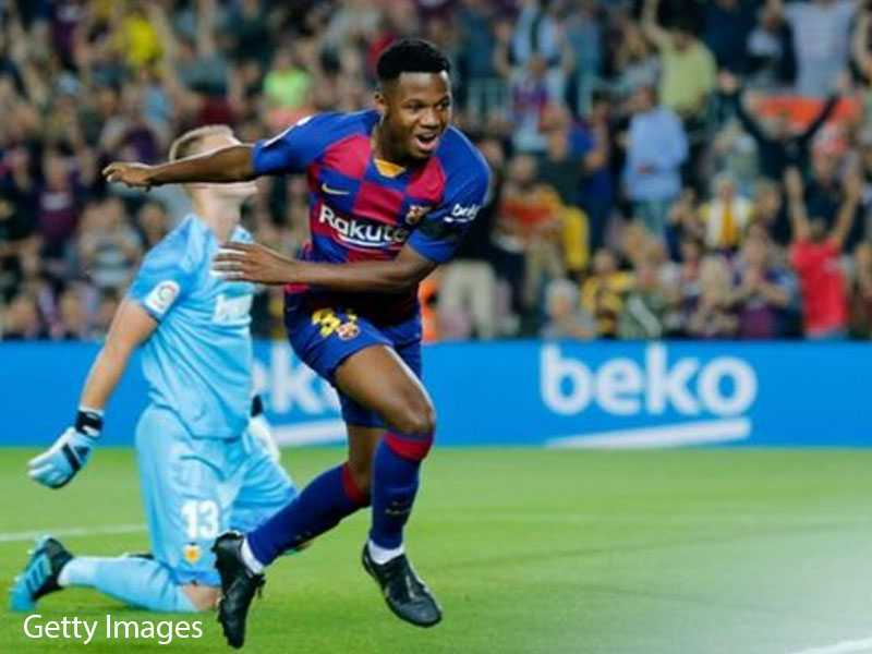 Ansu Fati Barca's Youngest Scorer Considered for Spain