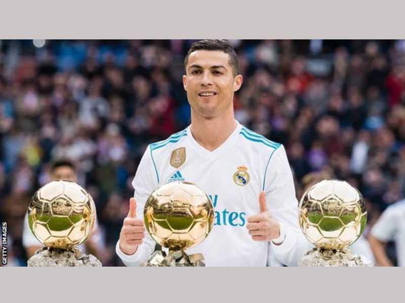 I deserve more Golden Balls than Messi, says Cristiano Ronaldo