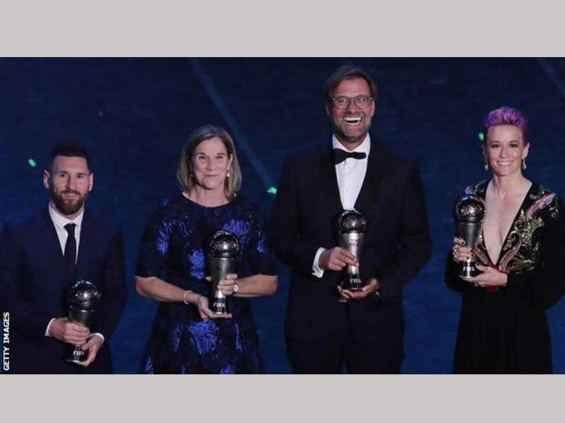 Messi wins FIFA Men's Player of the Year award