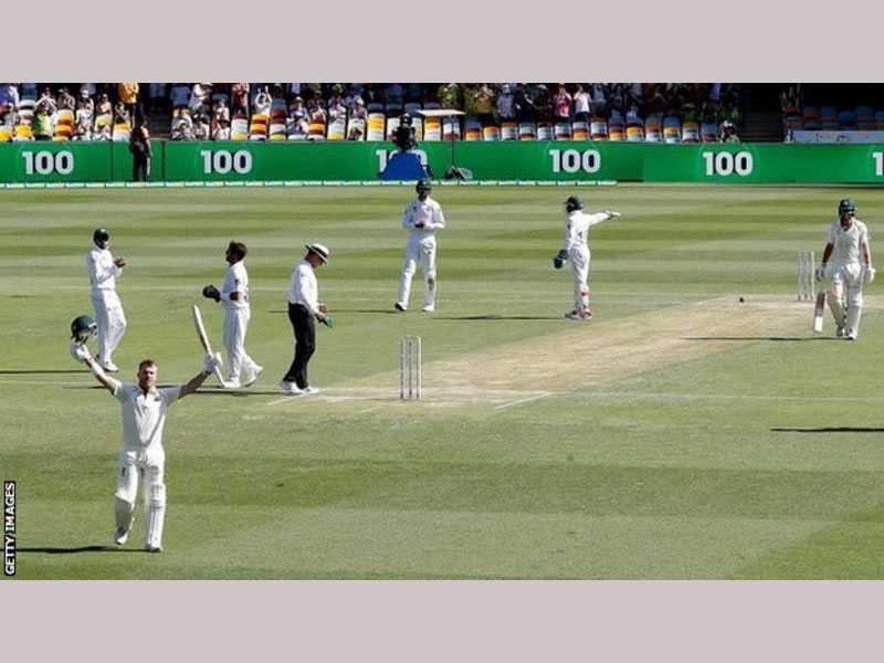 Warner's 150 puts Australia in driver's seat in Gabba Test