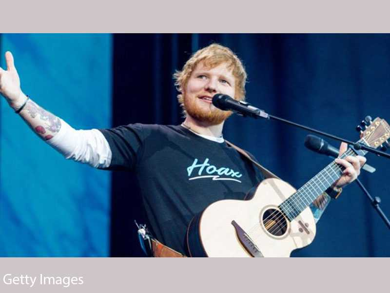 Ed Sheeran has been Named Artist of the Decade