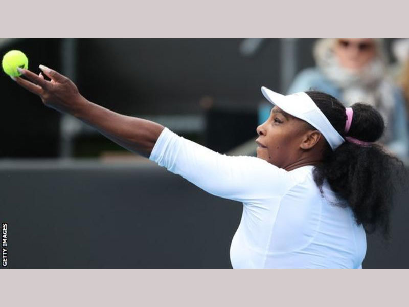 Serena breezes into second round in Auckland Classic