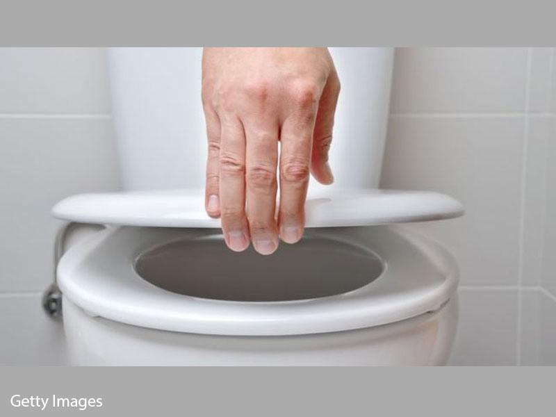 Beware the public toilet