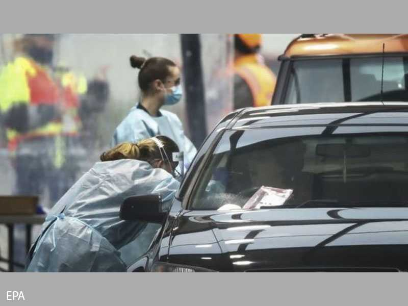 Australia starts virus testing blitz to curb surge in Melbourne