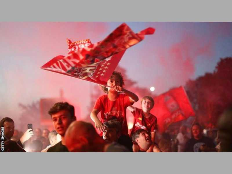 Really? Liverpool slam OWN FANS for celebrating title