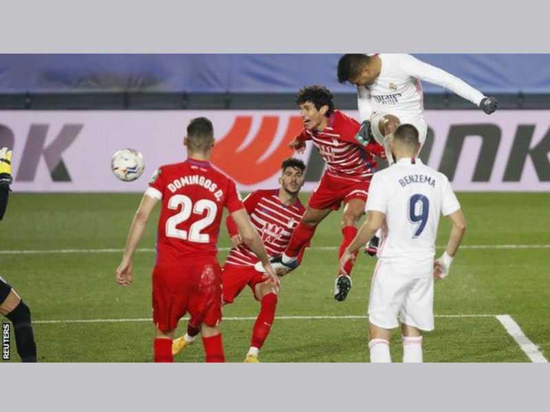 Real Madrid vs. Granada - Football Match Report