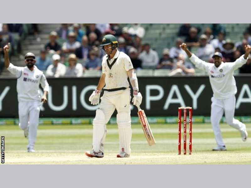 India bowl Australia out for 200, need 70 to win 2nd Test