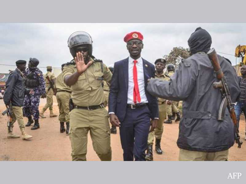 Bobi Wine Arrested As Uganda's Presidential Campaigns Reach Climax