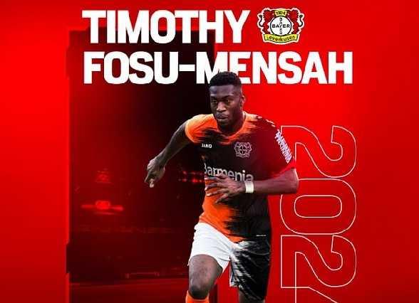 Manchester United defender Fosu-Mensah joins Bayer Leverkusen