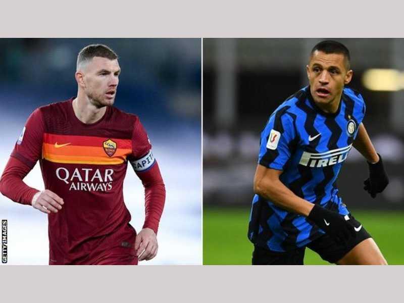 Roma and Inter Milan in swap talks over Edin Dzeko and Alexis Sanchez